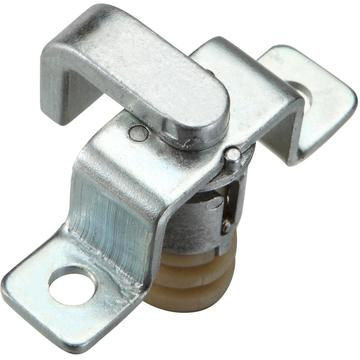 Cabinet ZDC Steel Bracket White Zinc-coating Latches