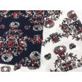 Court Style Cotton Stretch Printing Fabric
