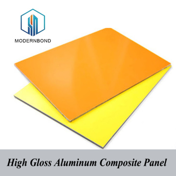 Wall Cladding High Gloss Aluminum Composite Panel