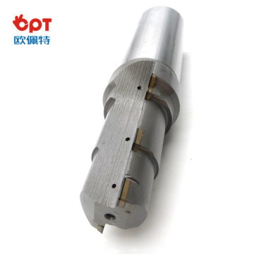 PCD t-slot end milling cutter edge
