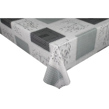 Lattice pattern and grey color tablecloths