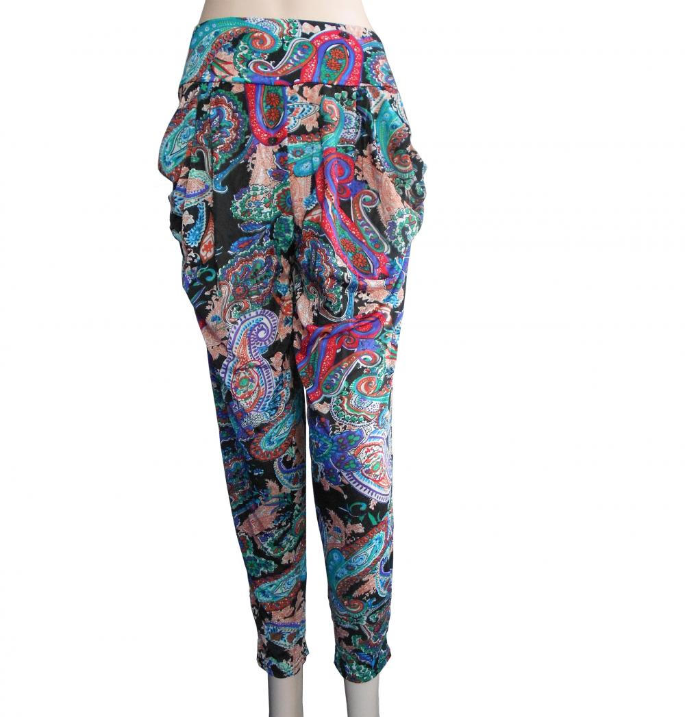 95% Polyester 5% Spandex Print Lady's Leggings