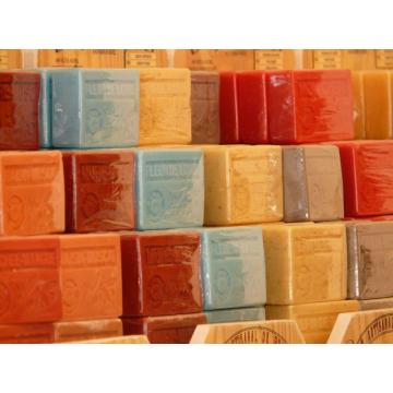 Handmade soap use natural zeolite