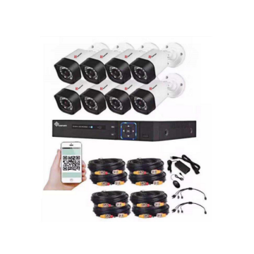 Outdoor 2MP CMOS 8CH AHD CCTV kit