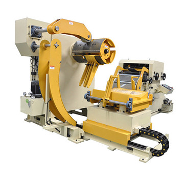 Compact Decoiler Straightener Feeder