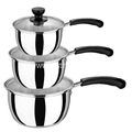 Stainless Steel Milk Pot With Single Handle Thickening