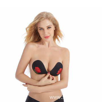invisible bra strapless bra push up silicone bra