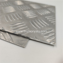 Car Used Thick Embossing Aluminum Sheet