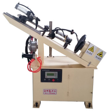 High frequency screw jack base automatic welding machine