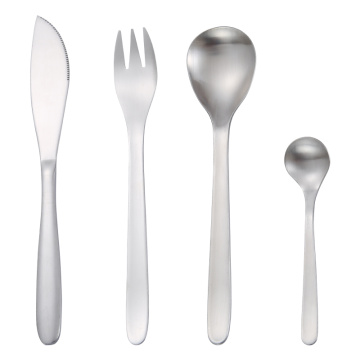 Japanese Simple design Stainless steel Flatware Set