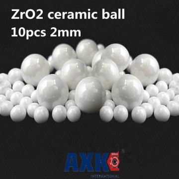 Free Shipping 10pcs 2mm 2 Zro2 Ceramic Balls Zirconia Balls Used In Bearing/pump/linear Slider/valvs Balls G5