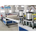PVC Co-extruded Colored Foam Sheet Machine Line
