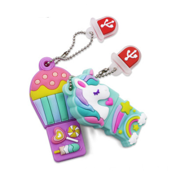 Unicorn Cartoon USB Flash Drive