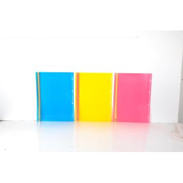 PP material plastic zip envelopes file folder