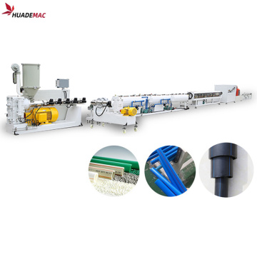 PPR PE plastic tube extruder line making machine