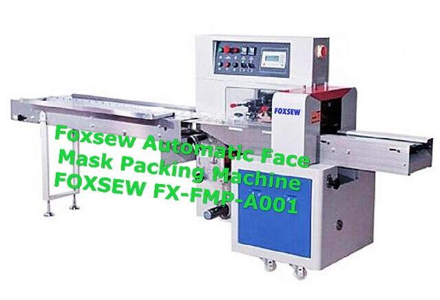 Foxsew Automatic Face Mask Packing Machine FOXSEW FX-FMP-A001