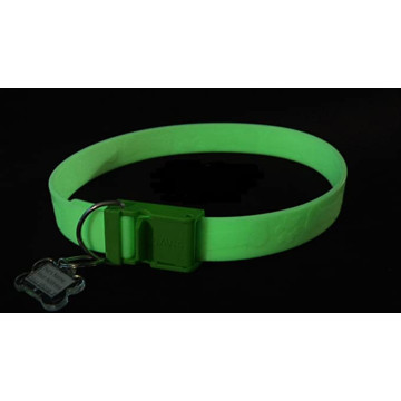 Glow in The Dark Pet Safety Silicone Collar