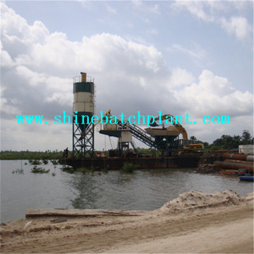 50 Portable Cement Batching Plant With Quality