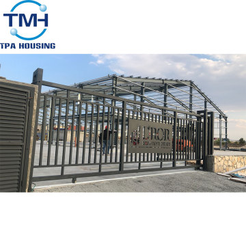 prefab engineering steel warehouse buildings design
