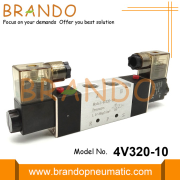 5 Way 2 Position Pneumatic Solenoid Valve 4V320-10