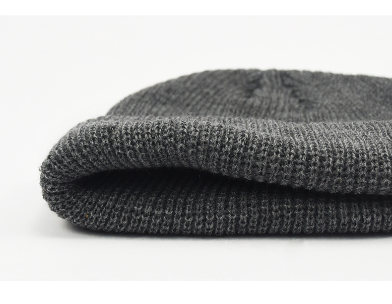 Men's winter warm jumper hat knitted sweater hat (5)