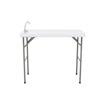 Folding Fish Cleaning Camping Table