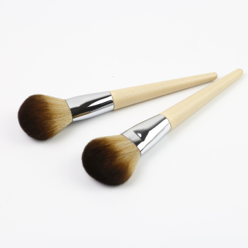 baboo handle face powder brush makeup brush kit
