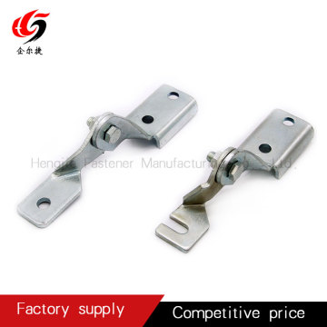 Hinge for seismic support and hanger accessories