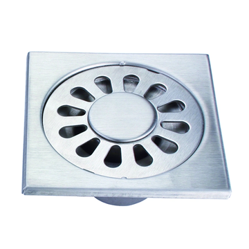 Stainless steel floor drain for bathroom