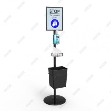 Dismountable Multiusage Hand Sanitizer Dispenser Stand for Wholesale