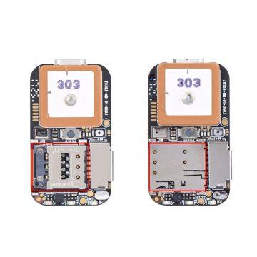 Super Mini Size GPS Tracker GSM AGPS Wifi LBS Locator Free Web APP Tracking Voice Recorder ZX303 PCBA Inside U1JF