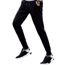 Mens Custom Thicken Warm Slim Cotton Sports Pants