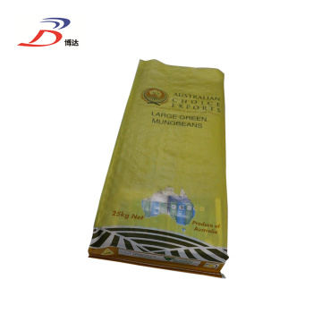 PP Woven Laminated Soybean Bag