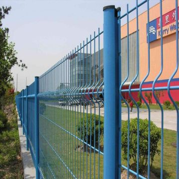 Cheap pvc coated galvanized steel garden fencing