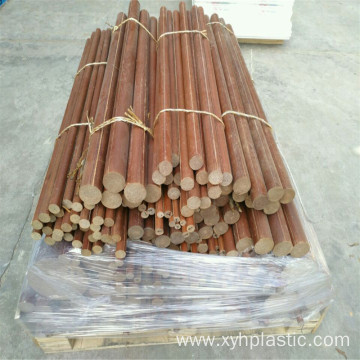 Brown Fabric Cotton Cloth Laminate Rod