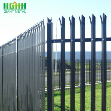 Garden Decorative Steel PVC Coated Palisade Europe Fence