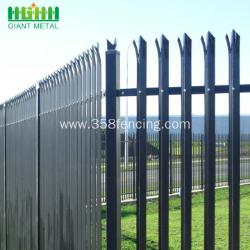 Factory Powder Coated Steel Palisade Fence for Sale
