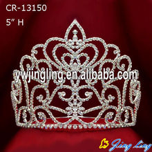 Half round new design crown Pageant Crown