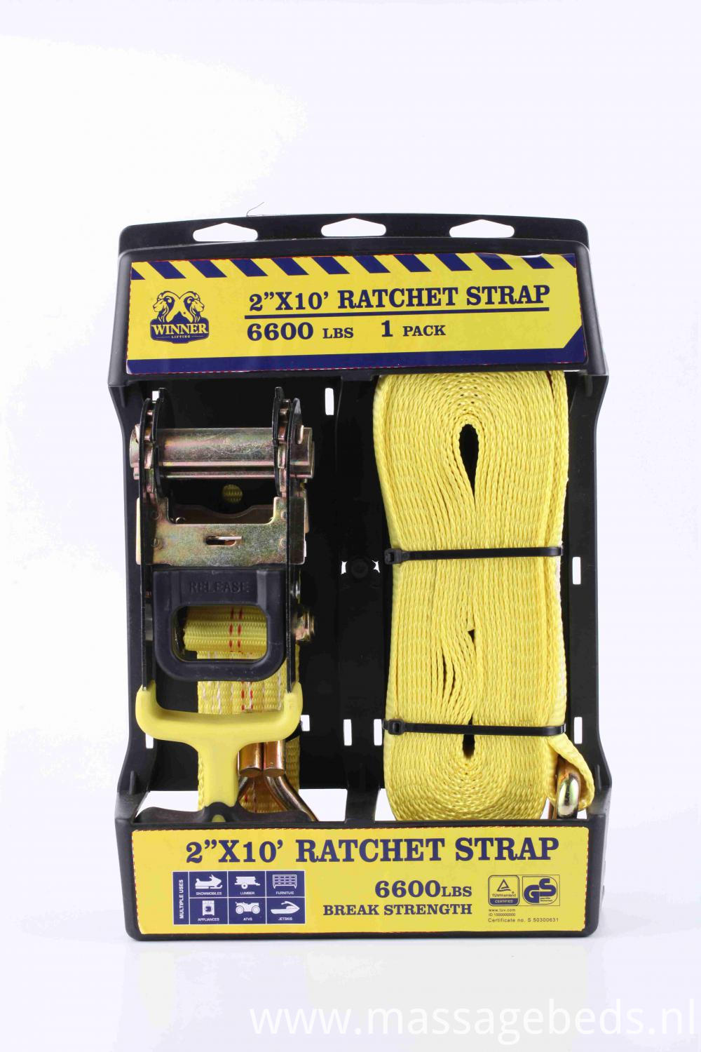 2''X10' Ratchet Buckle Strap Kit