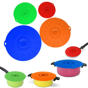 plastic pot covers silicon cook lids
