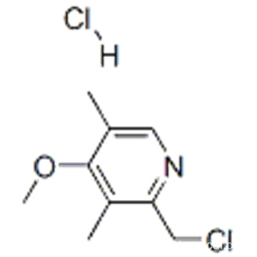 2-Chloromethyl-4-methoxy-3,5-dimethylpyridine hydrochloride CAS 86604-75-3