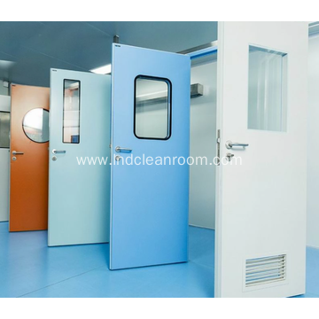 Seamless clean doors for food factories