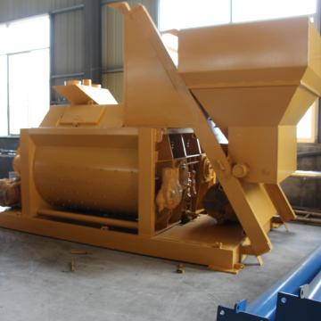 Double shaft 1 cubic meters concrete mixer Indonesia