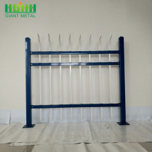 Factory Price Zinc Steel Tube Garden Fence