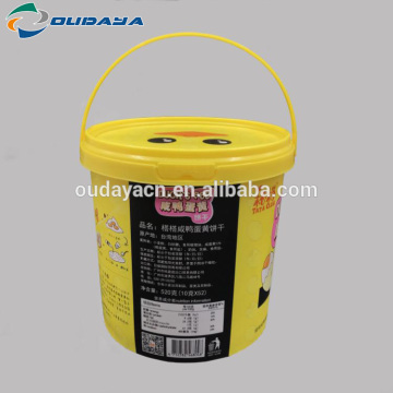 Food Grade Plastic Container container Biscuit Bucket