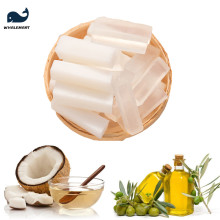 Handmade Soap Raw Materials Soap Base Plant Oil Transparent and White Color DIY Craft Nature Coconut Olives Palm Refined 500G