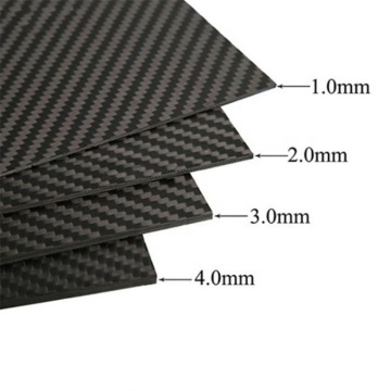 Hard and stable carbon fiber plate