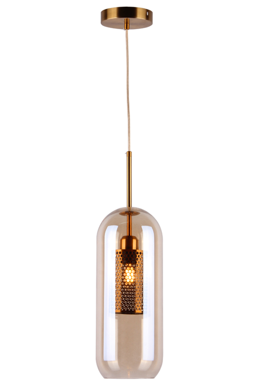 Modern Lamp Amber Color