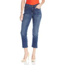 Fashion Women's Cotton Capris Denim Blue