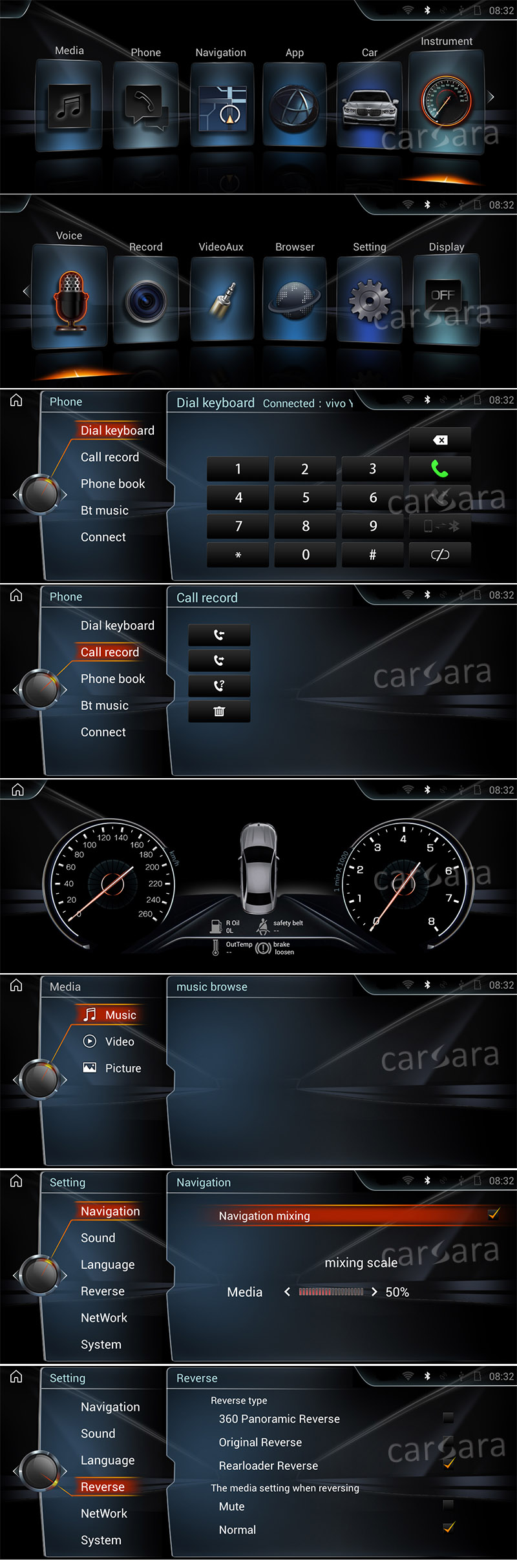 Android BMW 51317 UI
